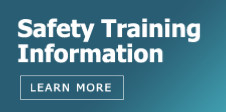Safety Training Info