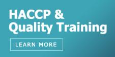 HACCP & Quality Training