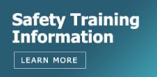 Safety Training Info